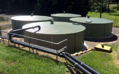 Temporary Water Starage tanks