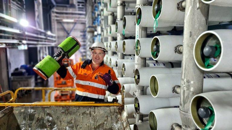 Desalination Plant - Membrane Replacement